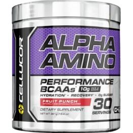 Аминокислота Cellucor, Alpha Amino, 384 г (Фруктовый пунш)