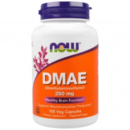 DMAE Now Foods 100 капсул (250 мг/1 кап)