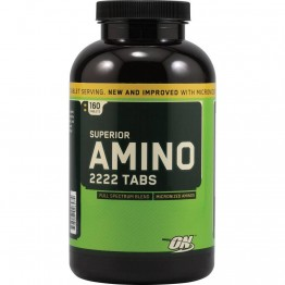 Аминокислоты Optimum Nutrition Superior Amino 2222 Tabs (320 таб.)