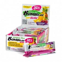 Протеиновый батончик BombBar Slim с Л карнитином (35 г) 10 г протеина