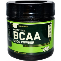 Optimum Nutrition BCAA 5000 powder, 345 г фруктовый пунш, апельсин