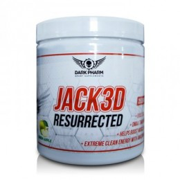 Энергетик Jack 3D Resurrected DARK PHARM (137.5 г)