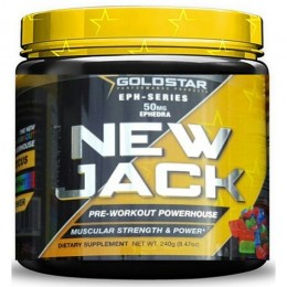 Энергетик Gold Star NEW JACK (240 г)