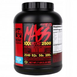 Гейнер Mutant Mass XXXTREME 2500 7lbs (3.18 кг)