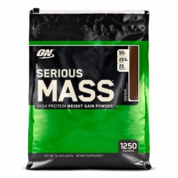 Гейнер Optimum Nutrition Serious Mass (5.45 кг) ваниль