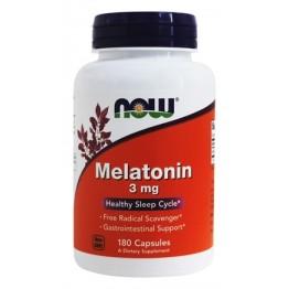 Мелатонин Now Foods 3 мг (180 капсул)
