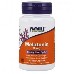 Мелатонин Now Foods 3 мг (60 капсул)