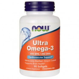 Ultra Omega-3 NOW Ультра омега-3 (90 капсул)