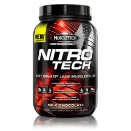 Изолят Muscletech Nitro Tech Performance (907 г)