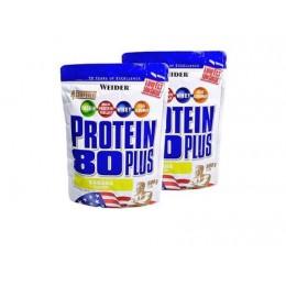 Многокомпонентный протеин Weider Protein 80 PLUS (500 г)