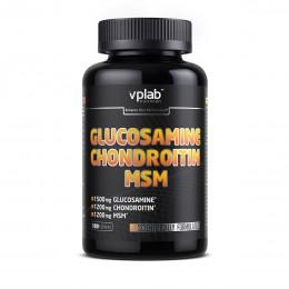 Средство для лечения суставов и связок Glucosamine Chondroitin MSM VPLab (180 таблеток)