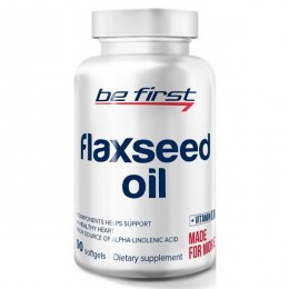Льняное Масло Be First Flaxseed Oil (90 капсул)