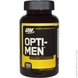 Витамины Optimum Nutrition Opti-Men 150 таблеток