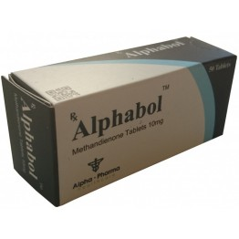 Метандиенон Alphabol (Alpha Pharma) 100 таблеток (1 таб 10 мг)