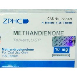 Метандиенон ZPHC (Methandienone) 100 таблеток (1 таб 10 мг)
