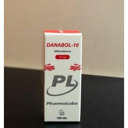 Метан Danabol - 10 PharmaLabs 100 таблеток (1 таб 10 мг)
