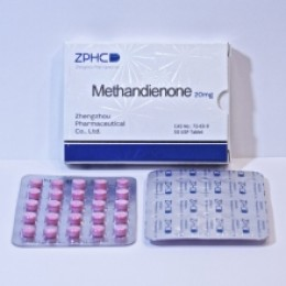 Метандиенон ZPHC (Methandienone) 50 таблеток (1 таб 20 мг)