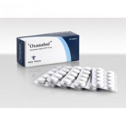 Oxanabol (Оксандролон, Анавар) Alpha Pharma 50 таблеток (1 таб 10 мг)
