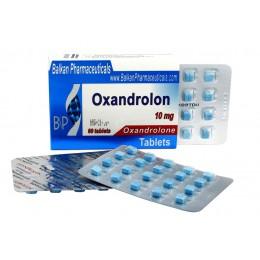 Oxandrolone (Оксандролон, Анавар) Balkan 100 таблеток (1 таб 10 мг)