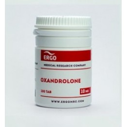 Оксандролон Ergo 100 таблеток (1 таб 10 мг)
