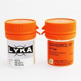 Оксандролон (Oxandrol 10) Lyka Labs 100 таблеток (1 таб 10 мг)