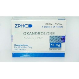 Оксандролон ZPHC 100 таблеток (1 таб 10 мг)