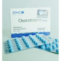 Оксандролон ZPHC (Oxandrolone) 50 таблеток (1 таб 20 мг)
