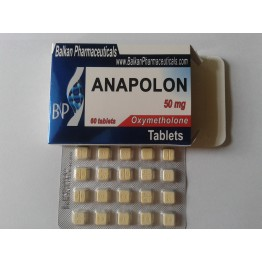 Anapolon (Анаполон, Оксиметалон) Balkan 100 таблеток (1 таб 50 мг)