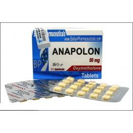 Оксиметалон (Anapolon) Balkan 20 таблеток (1 таб 50 мг)