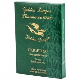Оксиметолон Golden Dragon Oxiged 50 - 100 таблеток (1 таб 50 мг)