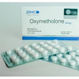 Оксиметолон ZPHC (Oxymetholone) Анаполон 50 таблеток (1 таб 50 мг)