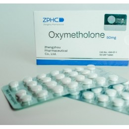 Оксиметалон ZPHC (Oxymetholone) Анаполон 50 таблеток (1 таб 50 мг)