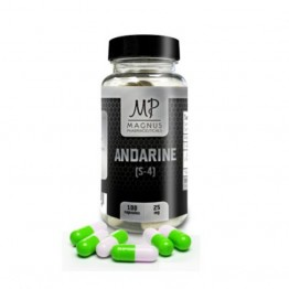 Sarm Andarine (S-4) 25 мг Magnus (100 капсул)