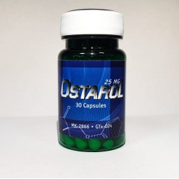 Ostarol (MK-2866) Alcaloid 30 капсул (1 капсула/25 мг)