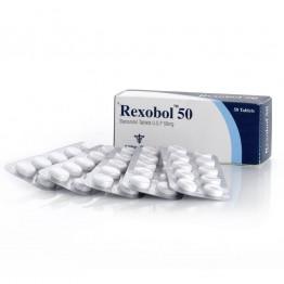 Rexobol (Станозолол, Винстрол) Alpha Pharma 50 таблеток (1 таб 10 мг)