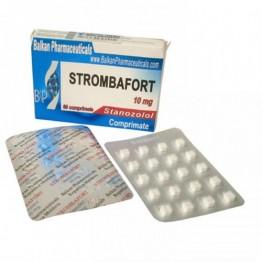 Strombafort (Станозолол, Винстрол) Balkan 100 таблеток (1 таб 10 мг)