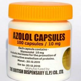 Станазолол (Azolol) British Dispensar 100 таблеток (1 таб 10 мг)