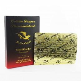 Станозолол Golden Dragon 100 таблеток (1 таб 10 мг)