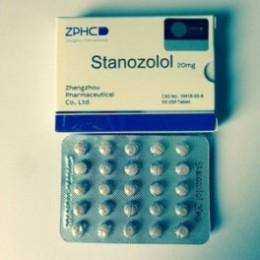 Станозолол ZPHC (Stanozolol) 50 таблеток (1 таб 20 мг)