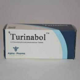 Turinabol (Туринабол) Alpha Pharma 50 таблеток (1 таб 10 мг)
