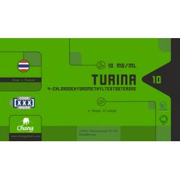 Туринабол Chang Pharm Turina 100 таблеток (10 мг/1 таб.)