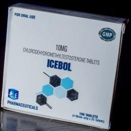 Туринабол Ice Pharma 100 таблеток (1 таб 10 мг)