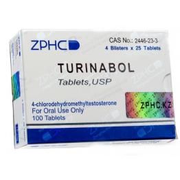 Туринабол ZPHC (Turinabole) 100 таблеток (1 таб 10 мг)