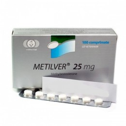 Methyltestosterone VERMODJE 100 таблеток (1 таб 25 мг)