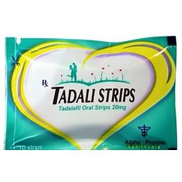 Сиалис Alpha-Pharma Tadali generic Tadalafil Oral Strips 10 таблеток