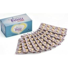 Тадалафил 20мг + Дапоксетин 60мг (10 таблеток)
