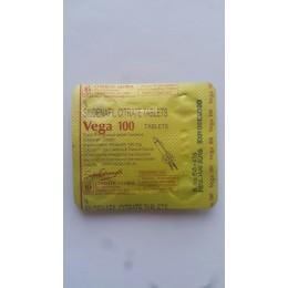 Виагра Vega (Индия) 4 таблетки (1 таб. 100 мг)