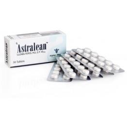 Astralean (Кленбутерол) Alpha Pharma 50 таблеток (1 таб 40 мкг)