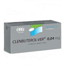 Clenbuterol-ver (Кленбутерол) Vermodje 100 таблеток (1 таб 40 мкг)