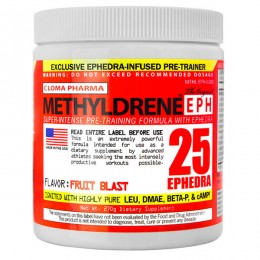 Жиросжигатель Cloma Pharma Methyldrene EPH (270 г)